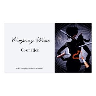 Tarjeta de visita para la industria de los cosméti