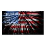 Tarjeta de visita patriótica