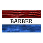 Tarjeta de visita patriótica del peluquero