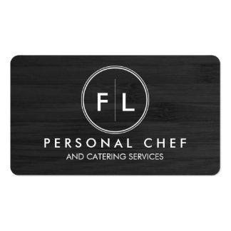 Tarjeta de visita personal del cocinero/de abastec