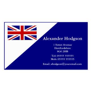 Tarjeta de visita personal - Reino Unido