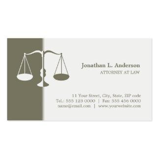 Tarjeta de visita procurador/abogado