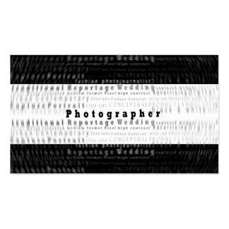 Tarjeta de visita profesional de la fotografía - m