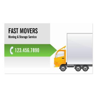 Tarjeta de visita Professional Moving Company