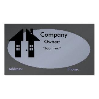 Tarjeta de visita - propiedades inmobiliarias