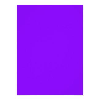 """Tarjeta de visita púrpura de la herramienta viva invitación 5.5"""" x 7.5"""""""