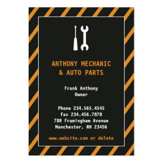 Tarjeta de visita rechoncha de la reparación auto