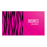 Tarjeta de visita rosada del diseño de la impresió