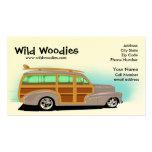 Tarjeta de visita salvaje de Woody