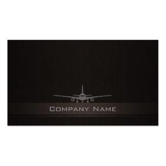 Tarjeta de visita Simple Airplane Company