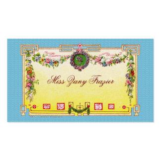 Tarjeta de visita social, tarjeta de visita