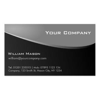 Tarjeta de visita Stylish Grey, Company