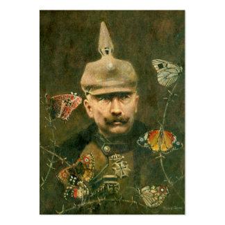 Tarjeta de visita surrealista de Kaiser Wilhelm