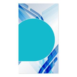 tarjeta de visita única en blanco del hielo