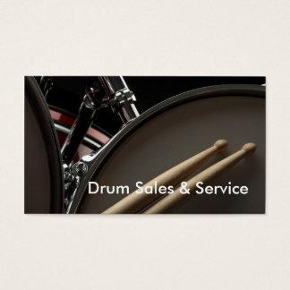 Tarjeta de visita: Ventas y servicio del tambor