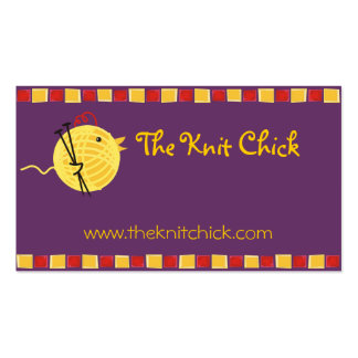 Tarjeta de visitas de encargo del polluelo de las tarjetas de visita