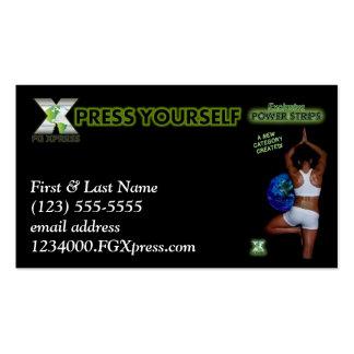 Tarjeta de visitas de FGXpress #2 Tarjetas De Visita