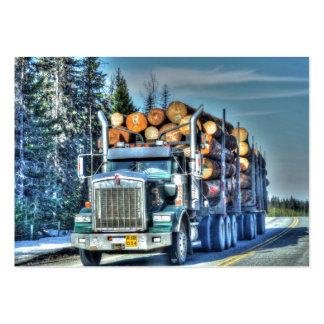 Tarjeta de visitas de registración del camión de T Plantilla De Tarjeta Personal