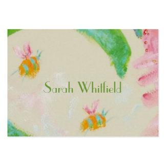 tarjeta de visitas del abejorro tarjetas de visita grandes