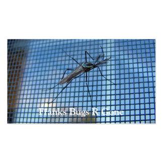 Tarjeta de visitas del ~ del mosquito del elefante tarjeta de visita