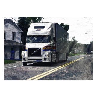 Tarjeta de visitas pesada del transporte de Trucke Tarjetas De Visita