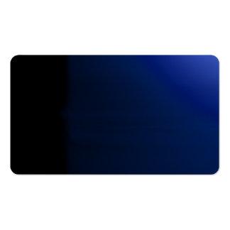 Tarjeta de visitas visual inusual de los tarjeta personal