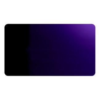 Tarjeta de visitas visual inusual púrpura de los tarjeta de negocio