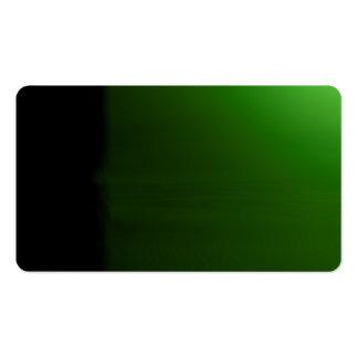 Tarjeta de visitas visual inusual verde clara de plantillas de tarjetas personales