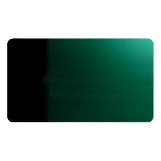 Tarjeta de visitas visual inusual verde de los tarjeta de visita