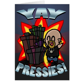 Tarjeta de YAY Pressies
