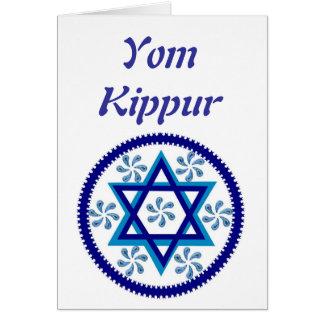 Tarjeta de Yom Kipur