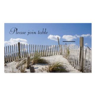 Tarjeta del acompañamiento - dunas tarjetas de visita