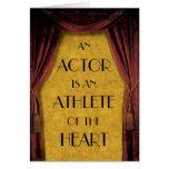 Tarjeta del actor