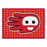Tarjeta del amor de la tarjeta del día de San