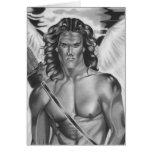 Tarjeta del amor del ángel del eros