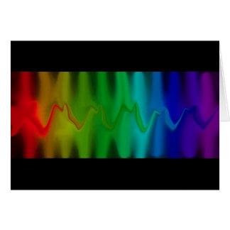 Tarjeta del análisis espectral