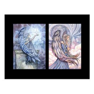 Tarjeta del ángel ACEO por Molly Harrison Postal