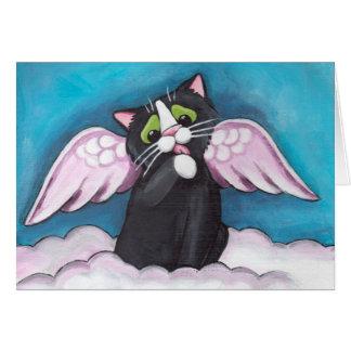 Tarjeta del ángel de guarda