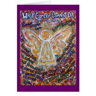 Tarjeta del ángel del cáncer del sudoeste