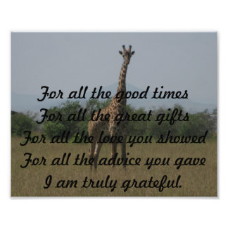 tarjeta del aprecio del pastor cojinete
