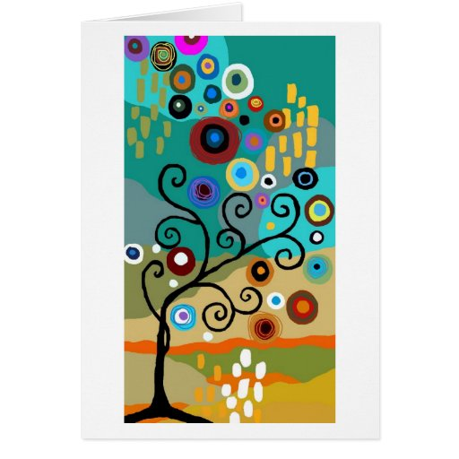 Tarjeta del árbol del deseo