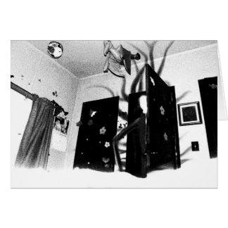 Tarjeta del armario de Slenderman