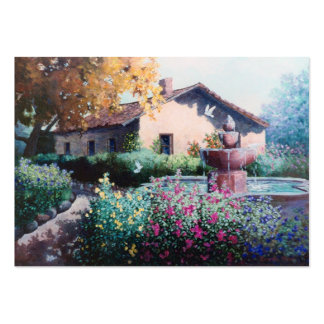 Tarjeta del arte de la hacienda tarjetas de visita grandes