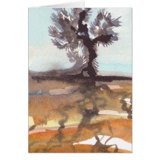 Tarjeta del arte de la yuca y de las raíces