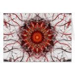 Tarjeta del arte del fractal: Chamuscadura de Sun