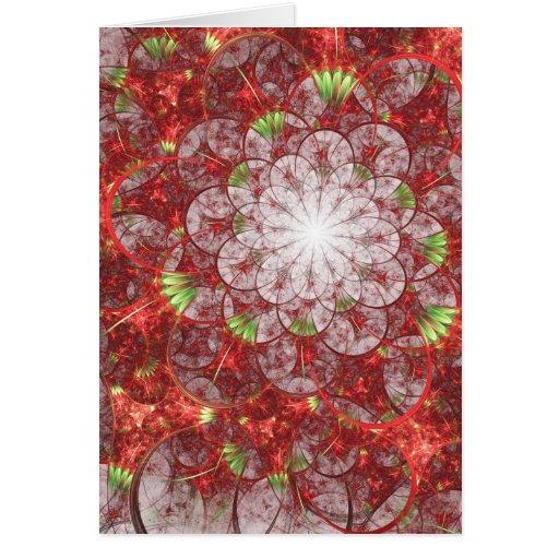Tarjeta del arte del fractal: En amor