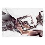 Tarjeta del arte del fractal: Maquinillas de afeit