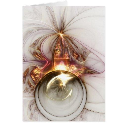 Tarjeta del arte del fractal: Oracle