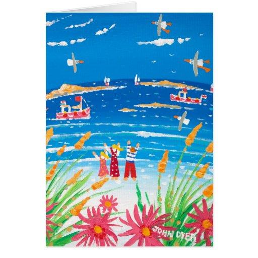 Tarjeta del arte: Días de Scilly. Islas de Scilly