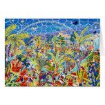 Tarjeta del arte: Jardín de Eden. El proyecto de E